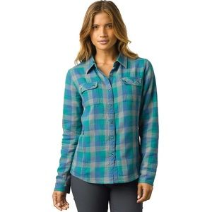 Prana Bridget Plaid Thermal Lined Shirt